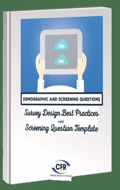 Demographic Survey Design Best Practices and Screening Market ...