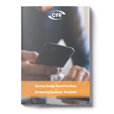 Survey Design Best Practices and Screening Question Template