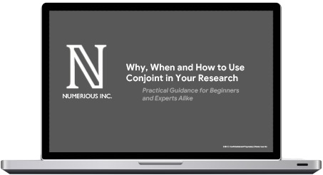 Why, When and How to Use Conjoint in Your Research
