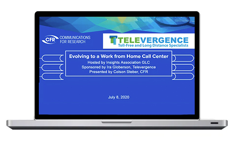Evolving to a Work From Home Call Center